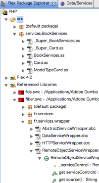 Flex Package Explorer